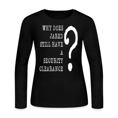 Jared Security Clearance - Women's Long Sleeve Jersey T-Shirt
