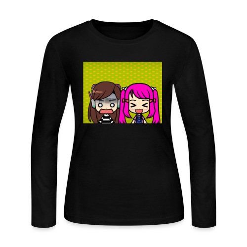 Phone case merch of jazzy and raven - Women's Long Sleeve Jersey T-Shirt