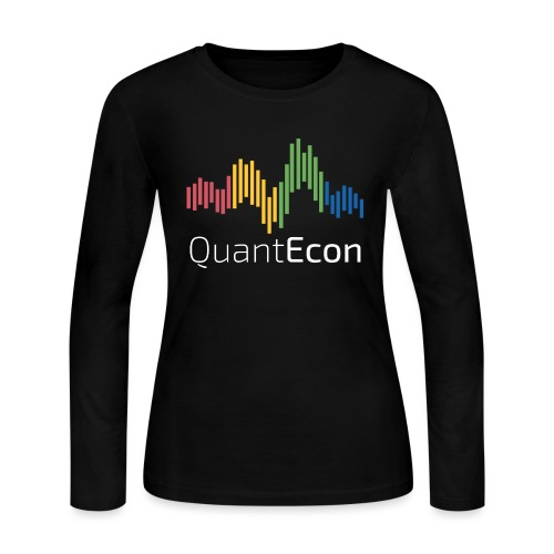 QuantEcon Official Logo #2 - Women's Long Sleeve Jersey T-Shirt
