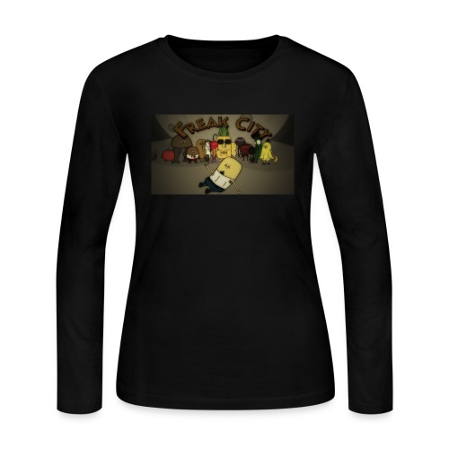 Freak City Characters - Women's Long Sleeve Jersey T-Shirt
