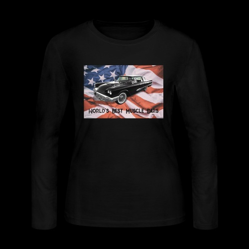 World's Best Muscle Cars - Women's Long Sleeve Jersey T-Shirt