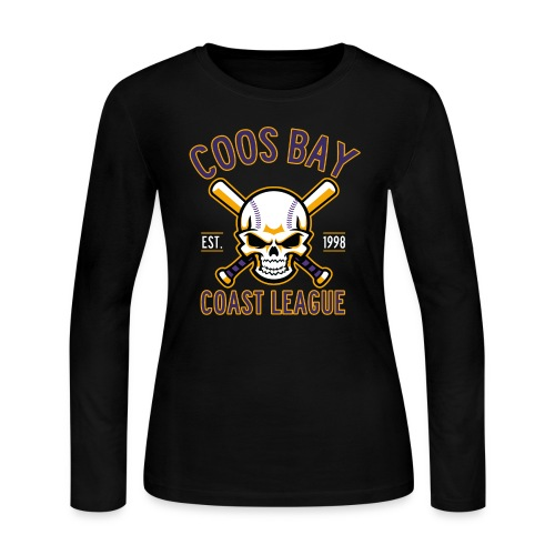 cbcl fullclr for darks - Women's Long Sleeve Jersey T-Shirt