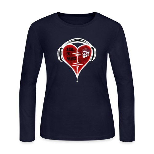 Axelofabyss Music in your heart - Women's Long Sleeve Jersey T-Shirt