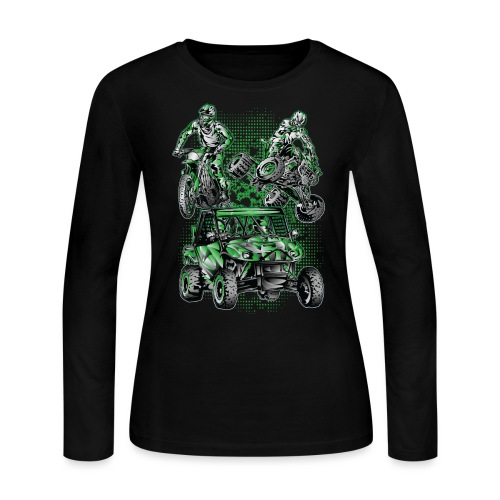 Extreme Moto Lifestyle - Women's Long Sleeve Jersey T-Shirt