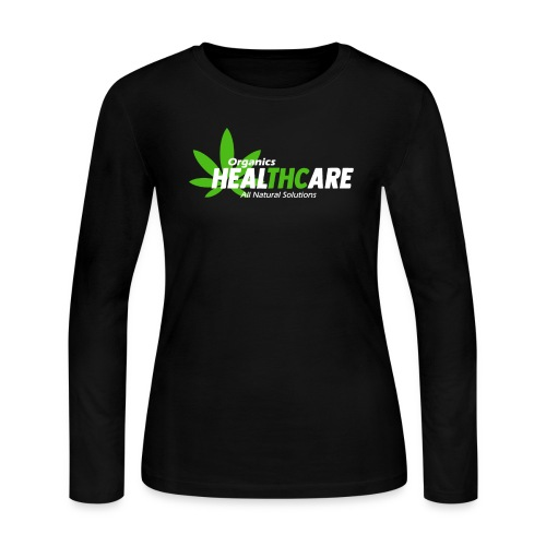 THC Healthcare 420 T-Shirt - Women's Long Sleeve Jersey T-Shirt