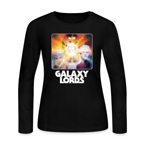 Galaxy Lords Poster Art - Women's Long Sleeve Jersey T-Shirt
