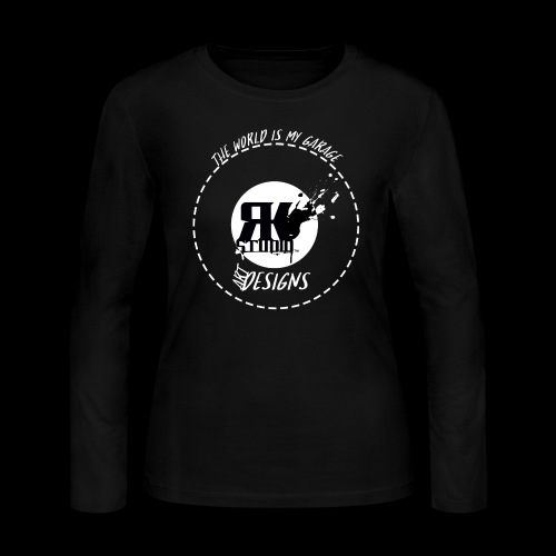 The World is My Garage - Women's Long Sleeve Jersey T-Shirt