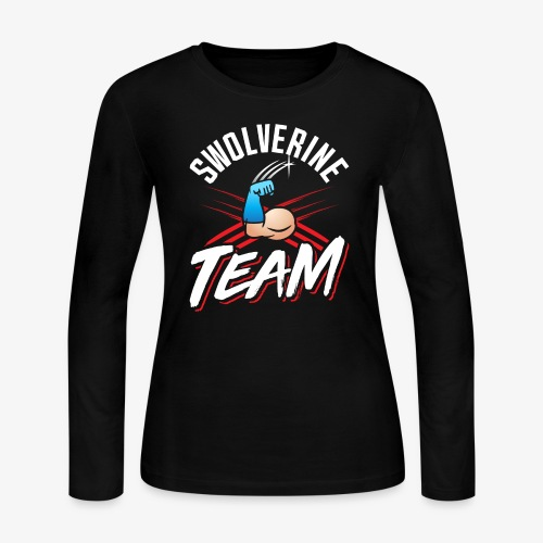 Swolverine Team - Women's Long Sleeve Jersey T-Shirt