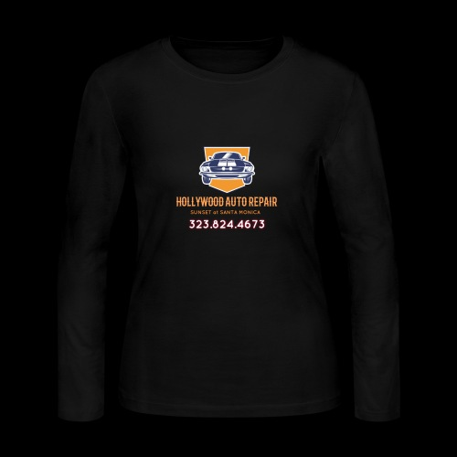 CLASSIC CARS! CLASSIC HOLLYWOOD! - Women's Long Sleeve Jersey T-Shirt