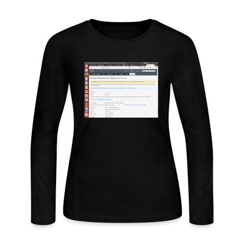 Screenshot from 2016 09 07 02 14 53 - Women's Long Sleeve Jersey T-Shirt