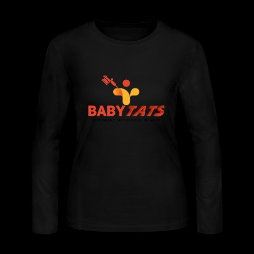 BABY TATS - TATTOOS FOR INFANTS! - Women's Long Sleeve Jersey T-Shirt