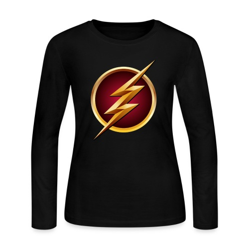 The Flash T-Shirt - Women's Long Sleeve Jersey T-Shirt