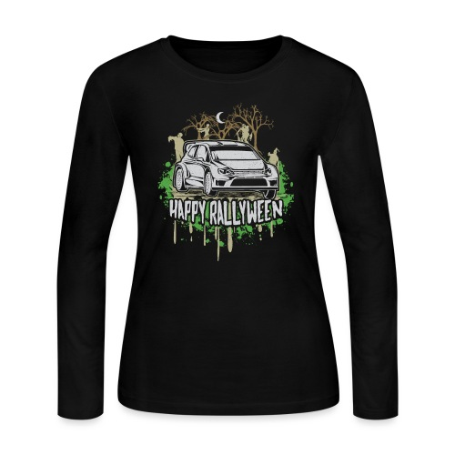 Rally Car Halloween - Women's Long Sleeve Jersey T-Shirt