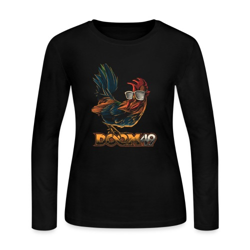 DooM49 Chicken - Women's Long Sleeve Jersey T-Shirt