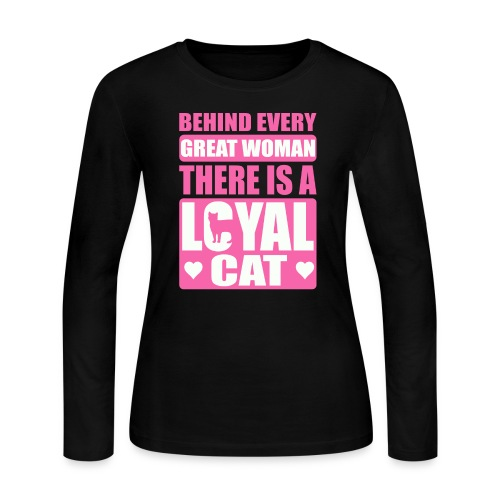 Hoodie & T-shirt For Cat Lovers - Women's Long Sleeve Jersey T-Shirt