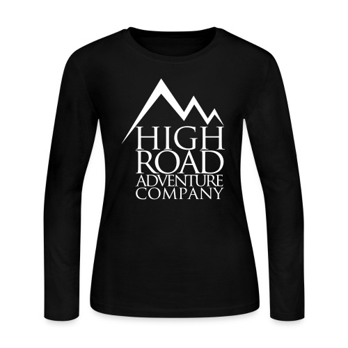 High Road Adventure Company Logo - Women's Long Sleeve Jersey T-Shirt