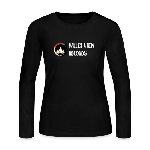 Valley View Records Official Company Merch - Women's Long Sleeve Jersey T-Shirt