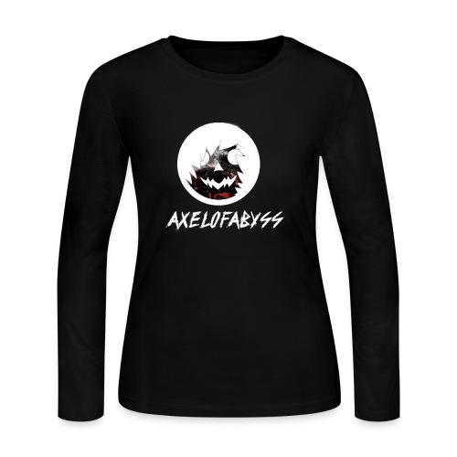 Axelofabyss Red with Nature - Women's Long Sleeve Jersey T-Shirt