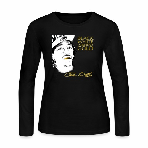 Carl Lovett Lauderdale Gold - Women's Long Sleeve Jersey T-Shirt