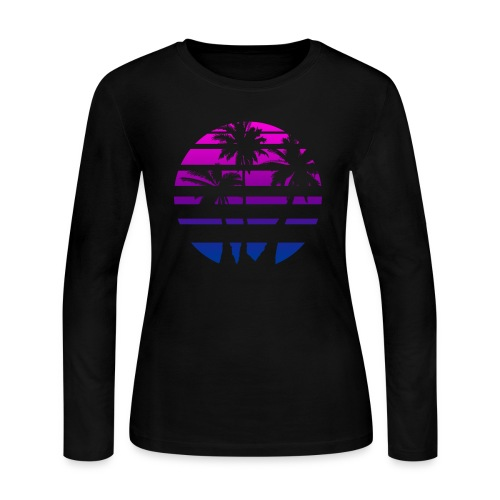 Trophical Aesthetic - Women's Long Sleeve Jersey T-Shirt