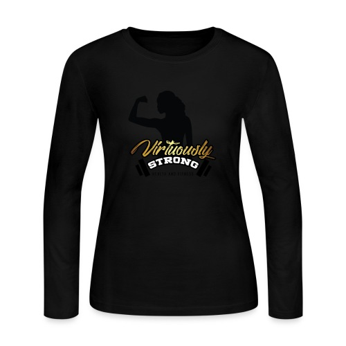 VS Logo - Women's Long Sleeve Jersey T-Shirt