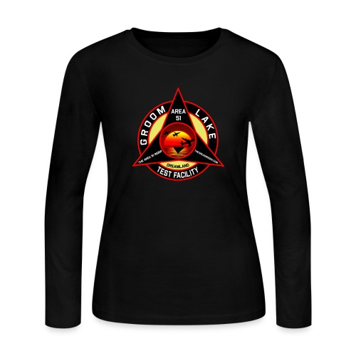 THE AREA 51 RIDER CUSTOM DESIGN - Women's Long Sleeve Jersey T-Shirt