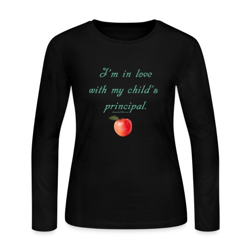 Love Principal - Mom - Women's Long Sleeve Jersey T-Shirt