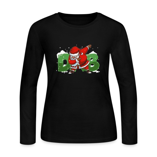 Dabbing Santa - Women's Long Sleeve Jersey T-Shirt