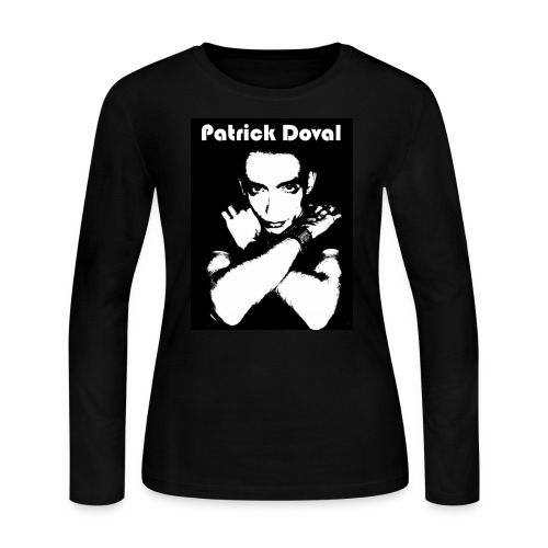 Patrick Doval Logo - Women's Long Sleeve Jersey T-Shirt