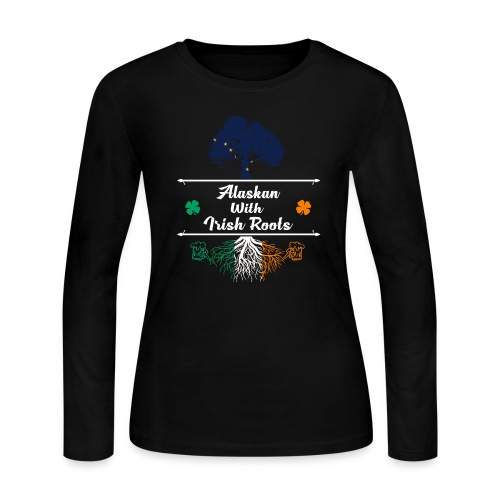 ALASKAN WITH IRISH ROOTS - Women's Long Sleeve Jersey T-Shirt