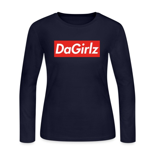 DaGirlz - Women's Long Sleeve Jersey T-Shirt