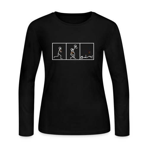 BUTTFUMBLE 6 (With Cartoon) - Women's Long Sleeve Jersey T-Shirt