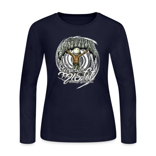 proud to misfit - Women's Long Sleeve Jersey T-Shirt