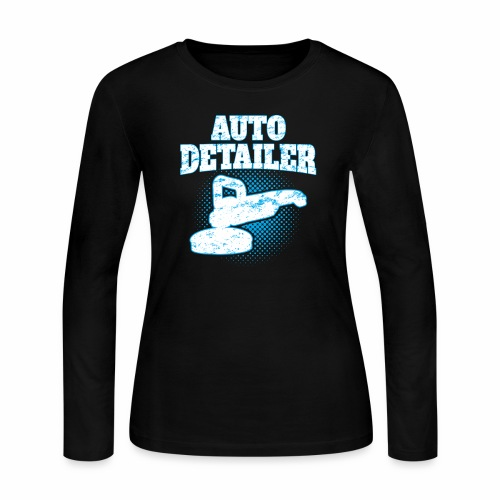 AUTO DETAILER SHIRT | CAR DETAILING - Women's Long Sleeve Jersey T-Shirt