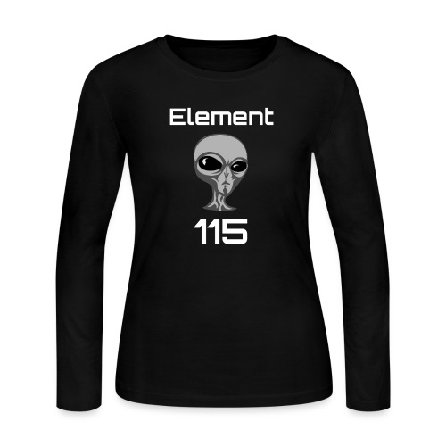 Element 115 Moscovium Alien Fuel - Women's Long Sleeve Jersey T-Shirt