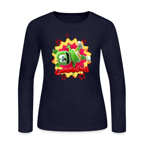 Gummibär Starburst - Women's Long Sleeve Jersey T-Shirt