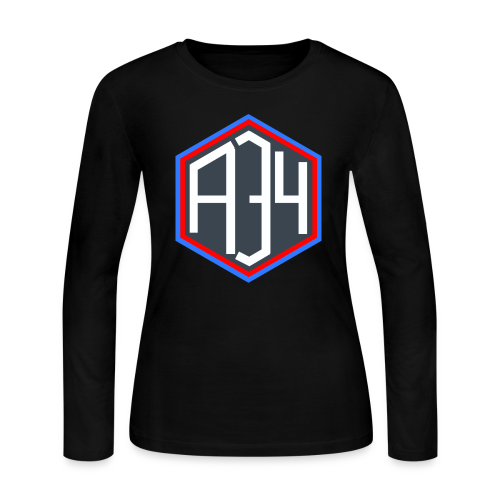 Adrian 34 LOGO - Women's Long Sleeve Jersey T-Shirt