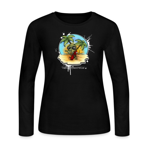 let's have a safe surf home - Women's Long Sleeve T-Shirt