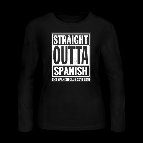 Spanish Club Merch 2018-2019 - Women's Long Sleeve Jersey T-Shirt