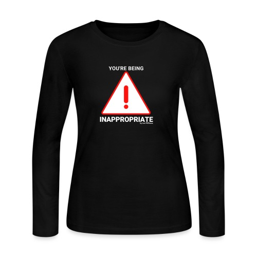 Inappropriate - Women's Long Sleeve Jersey T-Shirt