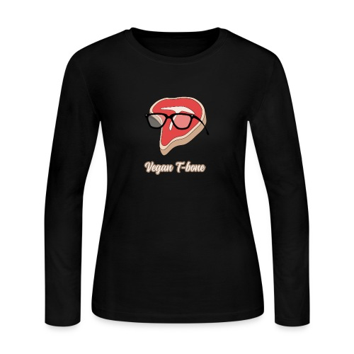 Vegan T bone - Women's Long Sleeve Jersey T-Shirt