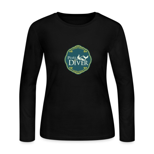 Pearl Diver Swag - Women's Long Sleeve Jersey T-Shirt
