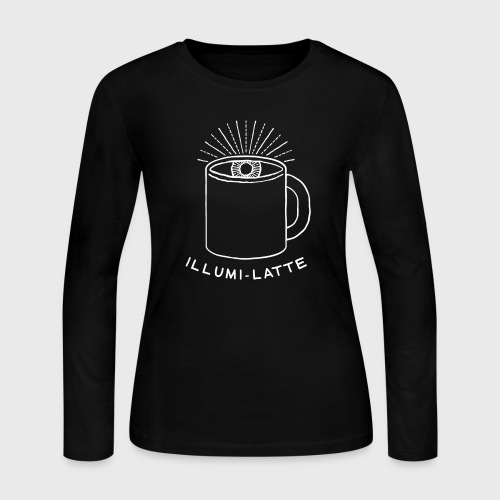 Coffee Illuminati - Women's Long Sleeve Jersey T-Shirt