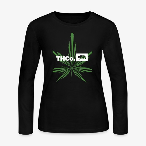 leaf logo shirt - Women's Long Sleeve Jersey T-Shirt