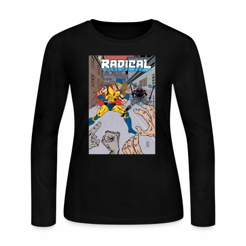 Radical 02 Cover - Women's Long Sleeve Jersey T-Shirt