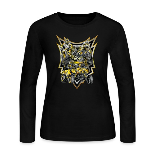 Extreme Off-Road Life - Women's Long Sleeve Jersey T-Shirt