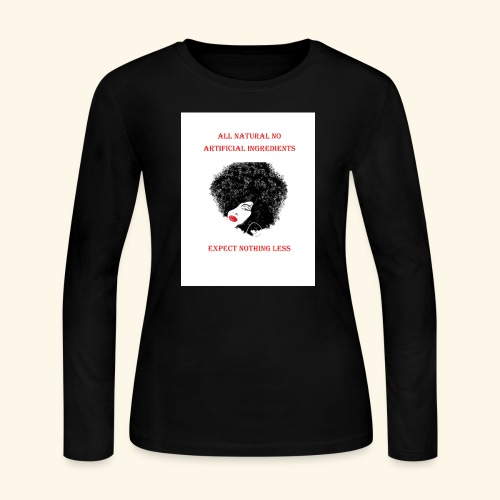 Afro - Women's Long Sleeve Jersey T-Shirt