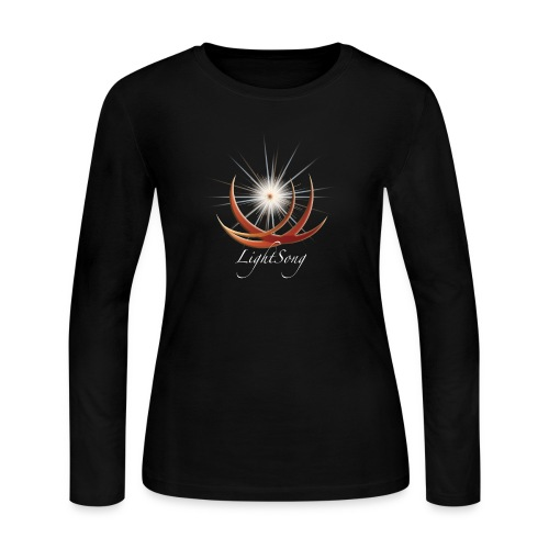 LightSong Logo - Women's Long Sleeve Jersey T-Shirt