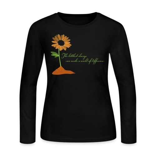 World of Difference - Women's Long Sleeve Jersey T-Shirt
