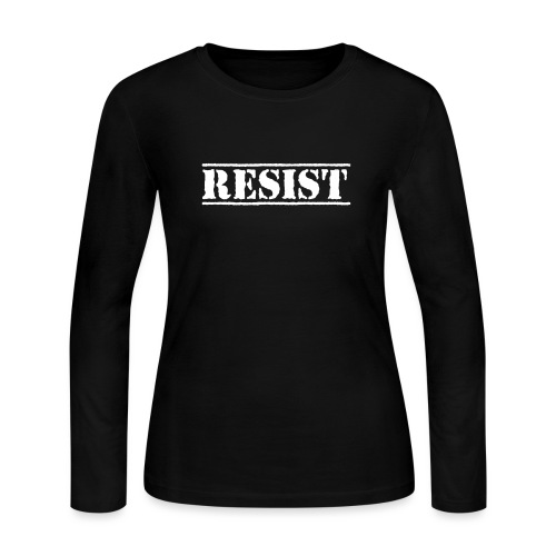 RESIST - Women's Long Sleeve Jersey T-Shirt